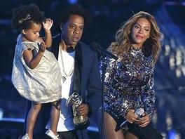 Ceny MTV 2014: Slavná rodinka - Beyoncé, Jay-Z a jejich dcera Ivy Blue