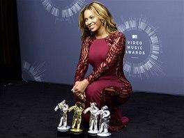 Ceny MTV 2014: Beyoncé a její sošky