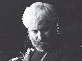 Dežo Ursiny na Valašském špalíčku 1989