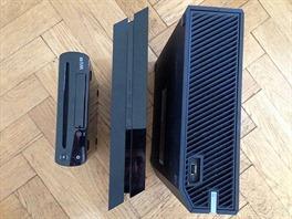 Zleva: Wii U, PlayStation 4, Xbox One