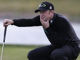 Jamie Donaldson na turnaji European Tour ve Vysokém Újezdu.