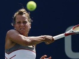 Barbora Záhlavová-Strýcová v utkání 1. kola US Open.