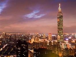 Tchaj-pej 101 je čtvrtý nejvyšší mrakodrap na světě.