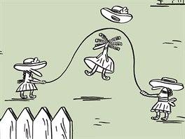 Ukázka z německé verze komiksu