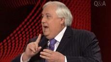 Australský miliardá� a politik Clive Palmer mluvil v televizním po�adu...