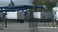 Ukrajina konvoj s humanitární pomocí
