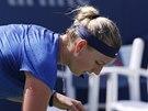 NEDA�� SE. Petra Kvitov� ve 3. kole US Open.