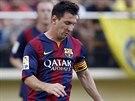 NEPROSADIL SE. Lionel Messi (vpravo) Villarrealu gól nevstřelil, Barcelona...