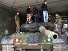 V�t�zov� sout�e Aliante u 413. tankov� jednotky v n�meck�m Torgelow