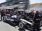 Will Power, australský šampion amerického seriálu IndyCar, se se svým týmem...