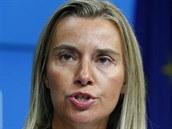 Nov� ��fka evropsk� diplomacie Federica Mogheriniov� (30. srpna 2014).