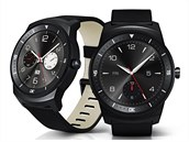 LG G Watch R jsou první hodinky s kulatým displejem.