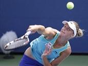 Karolína Plí�ková ve 3. kole US Open