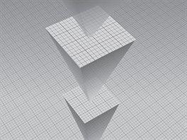 Každá následující úroveň, představuje obrovské zvětšení geometrie prostoru z...