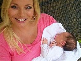 Lucie Borhyová s dcerou Lindou