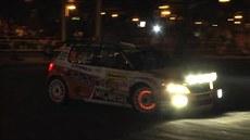 Závodní v�z p�i Barum rally 2014