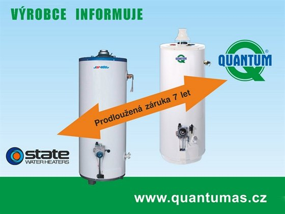 S ohřívači vody Quantum vsadíte na jistotu