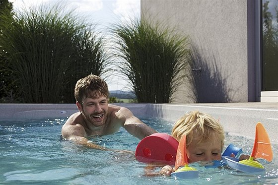 Pořiďte si termální bazén a koupejte se i v zimě!