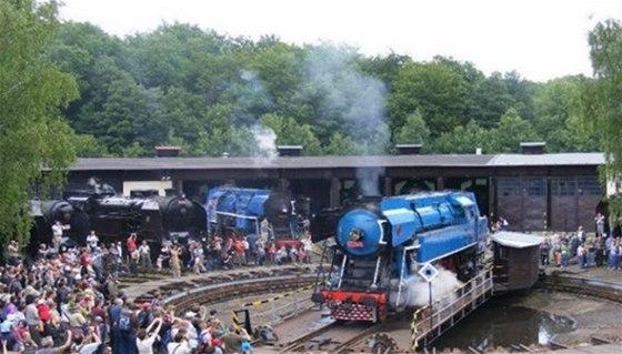 Největší české železniční muzeum se nachází v Lužné u Rakovníka