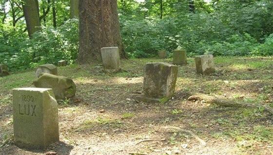 Historický psí hřbitov v okolí kunštátského zámku
