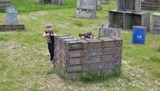 Rány z laserové pistole nebolí, zahrát si tedy může celá rodina