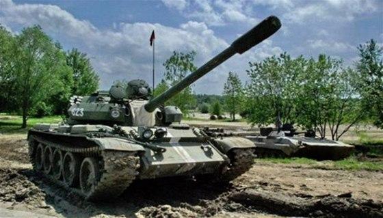 Tankodrom Milovice pořádá spolu s centrem Mirákulum tankové dny, během nichž se