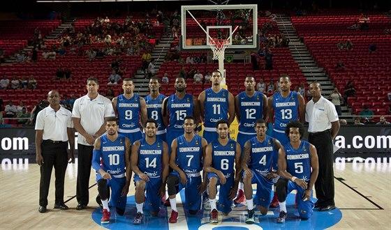 Basketbaloví reprezentanti Dominikánské republiky pro MS ve Španělsku.