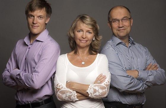 Tomáš Verner s rodiči