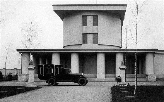 Městské krematorium v Nymburku, 1922