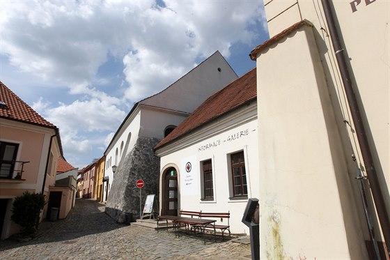 Zadní synagoga je nejcennější budova židovské čtvrti v Třebíči.