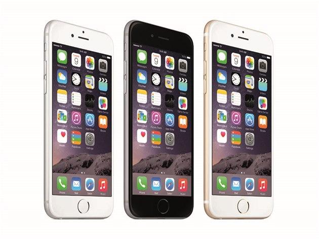 iPhone 6 - t�i barevná provedení