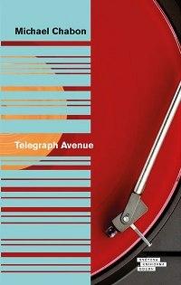 Obal českého vydání knihy Telegraph Avenue