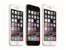 iPhone 6 - tři barevná provedení