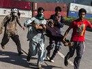 Nepokoje v Islámábádu (31. srpna 2014)