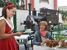 Stylová kavárna na bývalém nádraží v Litoměřicích láká na výjimečnou atmosféru.