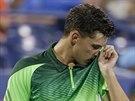 Rakouský tenista Dominic Thiem nestačil v osmifinále US Open na Berdycha.