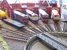 Modelové železniční depo