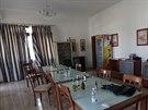 Pohled na jídelnu amerického velvyslanectví v Tripolisu, kam islamistická...