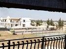 Pohled na areál amerického velvyslanectví v Tripolisu, kam islamistická skupina...