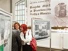 Výstava v muzeu MHD v pražských Střešovicích ukazuje návštěvníkům provoz...