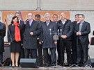 Sociální demokraté v pondělí v Pelhřimově zahájili setkání s voliči před...