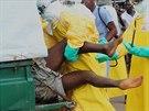 Afriku vystrašil další případ neukázněného pacienta nakaženého smrtící ebolou....
