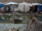 Podmínky v některých táborech pro uprchlíky jsou otřesné.