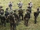 Čeští vojáci na cvičení Sabre Junction v německém Hohenfelsu