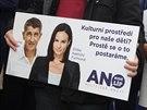 Hnutí ANO zahájilo v centru Prahy kampaň před podzimními senátními a obecními...