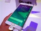 Samsung Galaxy Note Edge živě na veletrhu IFA v Berlíně