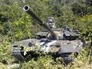 Rusk� tank T-72BZ na Ukrajin�