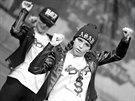 Hradecká taneční skupina T-Bass v New Yorku.