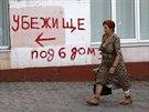 Obyvatelé Mariupolu chodí normálně nakupovat, fungují i místní restaurace a