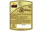Etiketa piva Hrad Karlštejn. Ačkoliv se tváří jako regionální produkt, na zadní...